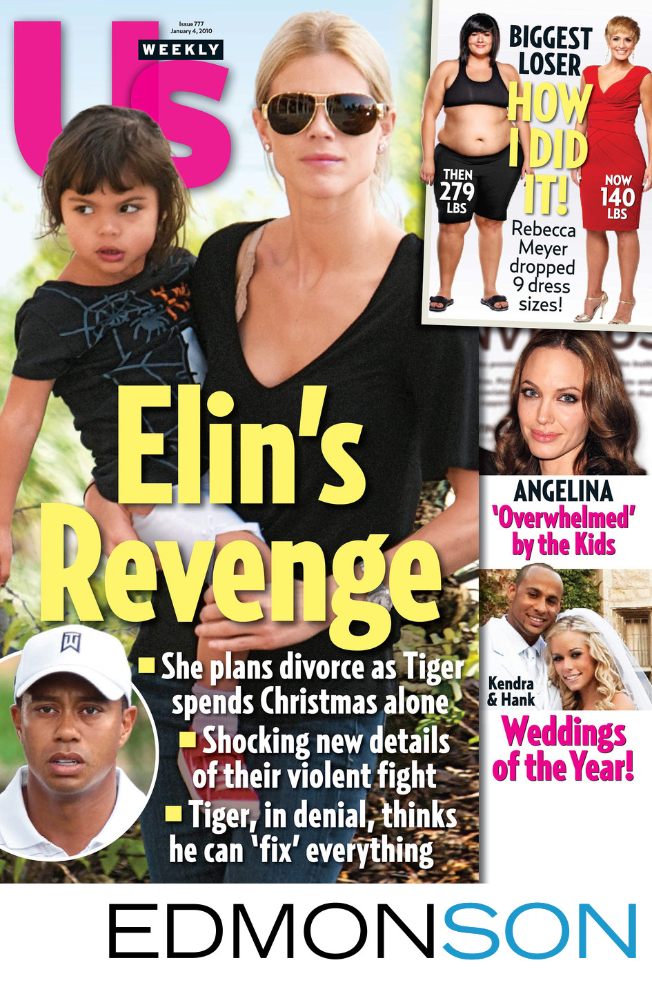Us Weekly Covers Weddings Of The Year Michelle Aguilar