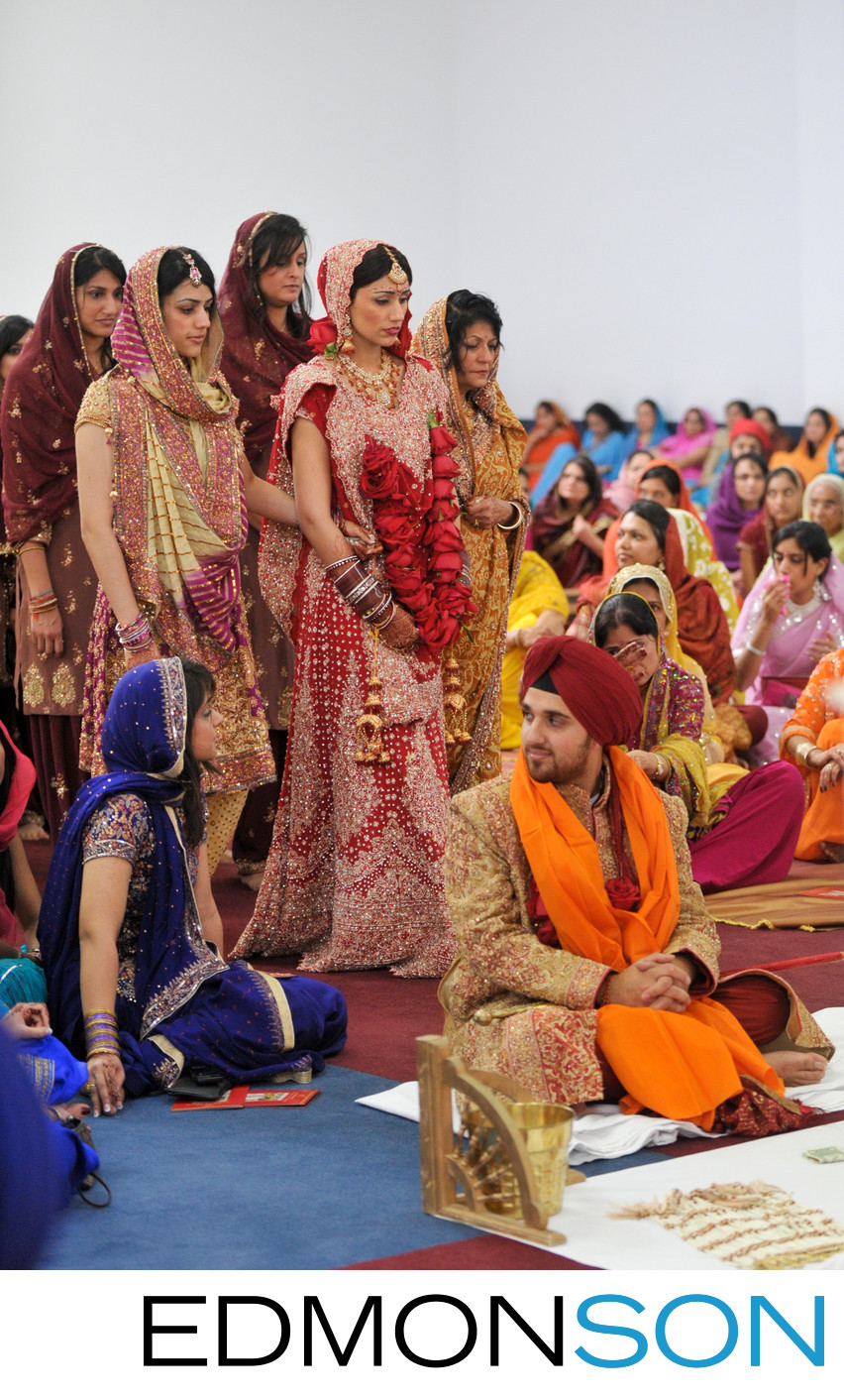 Sikh Indian Wedding At North Texas Temple Near Dallas