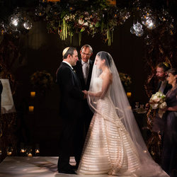 Ritz Carlton Jewish Wedding In Dallas Ceremony