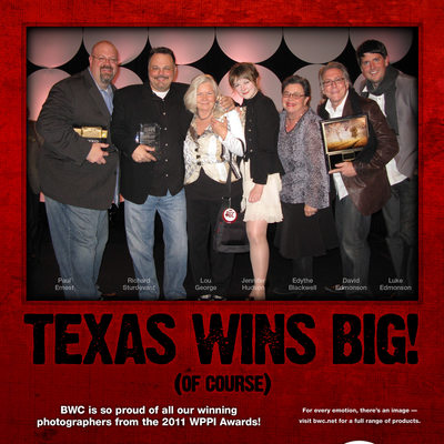 Award-Winning Dallas Professional Photographers BWC Ad