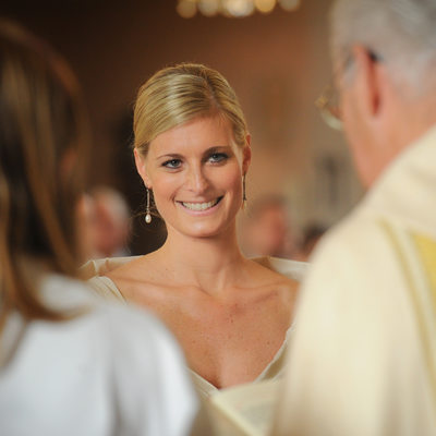 Catholic Wedding At St. Gilgen In Austria