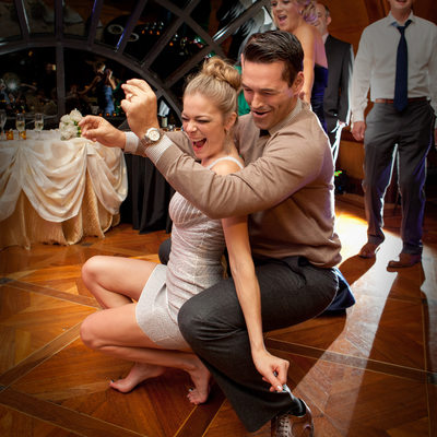 LeAnn Rimes & Eddy Cibrian Dance At Crescent Wedding