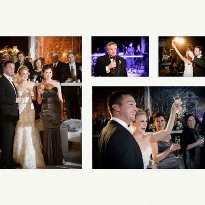 Wedding Toasts At Rough Creek Reception