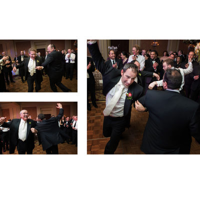 Jewish Wedding Hora At Ritz Dallas Reception