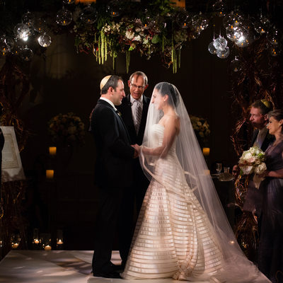 Ritz-Carlton Jewish Wedding In Dallas Ceremony