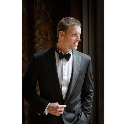 Groom Gets Ready For Wedding At Ritz-Carlton, Dallas