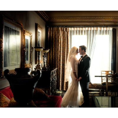 Hotel ZaZa Dallas Wedding Couple Portrait Session