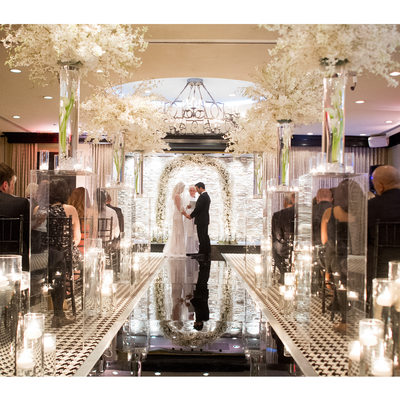 Wedding Ceremony At Hotel ZaZa Dallas Ballroom