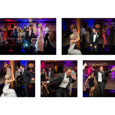 Guests Dance At ZaZa Wedding Reception In Uptown