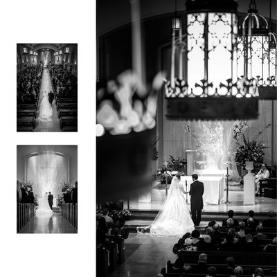 Wedding Ceremony At Holy Trinity Catholic Church