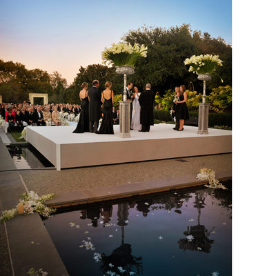 Dallas Arboretum Luxury Wedding DFW Events
