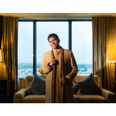 Dallas Indian Groom Weds At Hilton Anatole