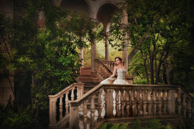 Austin Bridal Portrait In Regal Setting
