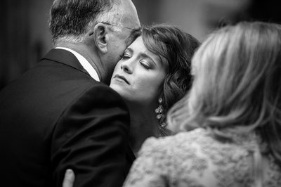 Emotional Wedding PJ Moment With Bride And Parents