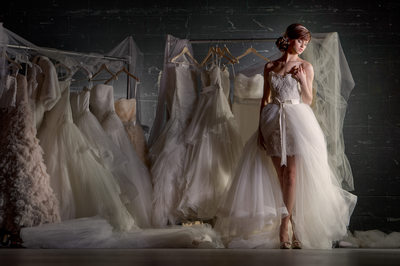 Wedding Dresses At Bass Hall In Ft. Worth, TX