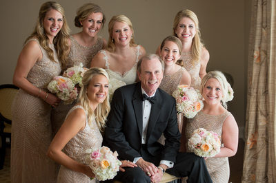 Father Of Bride Surrounded By Love At Crescent
