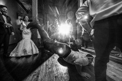 Party At McKinney Cotton Mill Wedding Reception