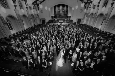 Creative Group Wedding Portrait at PCPC