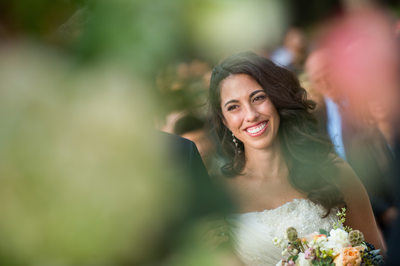 Ecstatic Bride Smiles On Seeing Groom's Reaction