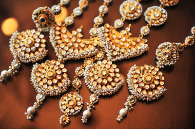 DFW Indian Wedding Jewelry Before Wedding At Anatole