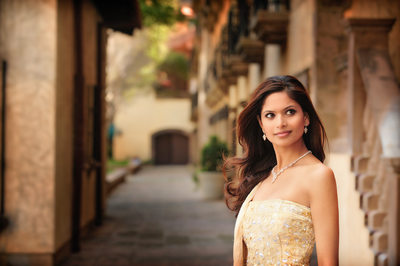 Indian Engagement Photography At Canals Las Colinas