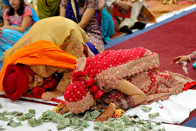 North Texas Sikh Wedding Ceremony At Garland Temple