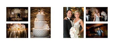 Reception Details At Hotel ZaZa Wedding In Dallas, TX.