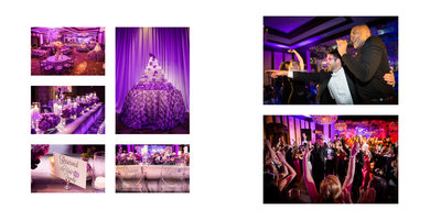 Dallas Country Club Wedding Reception Details