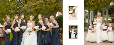 Bridal Party At Holy Trinity Greek Orthodox Church