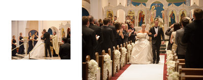 Wedding Ends At Holy Trinity Greek Orthodox Dallas