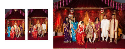 Dallas Indian Wedding Family Formals