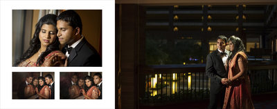 South Indian Wedding Dallas Portraits Anatole