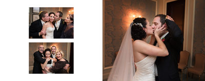 Hugs & Kisses After Dallas Jewish Wedding