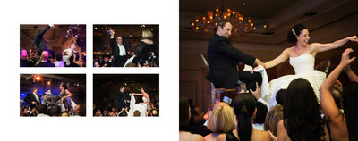 Jewish Wedding Reception Dancing At Ritz Dallas
