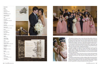 Catholic Weddings Featured In Inside Weddings Magazine