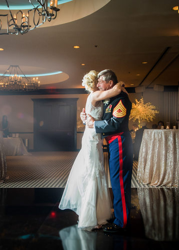 Military Father Daughter Dance At ZaZa Dallas
