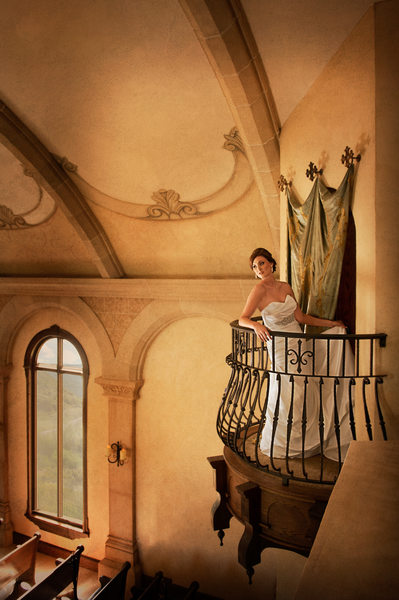 McKinney Bridal Portrait At Bella Donna Chapel