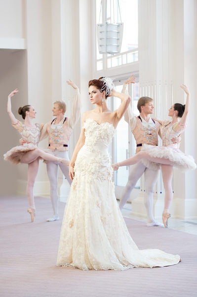 Wedding Dress Feature Ballet Editorial