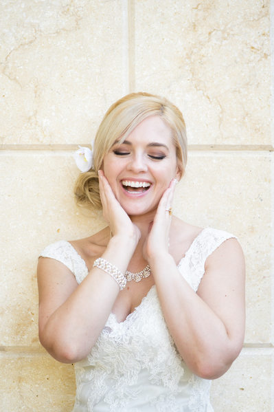 Park Cities Bride Caught Cracking Up On Wedding Day