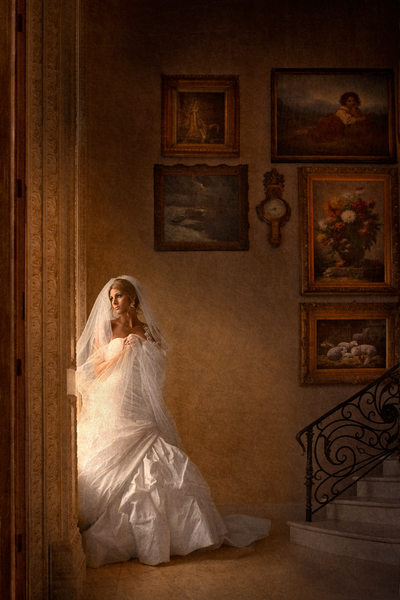 Amazing DFW Bridal Portrait Oozes Warmth & Beauty