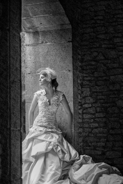 Bridal Portrait At Canals At Las Colinas