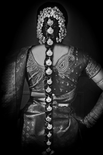 Telugu Indian Bride's Hair Is A Show Stopper At Anatole