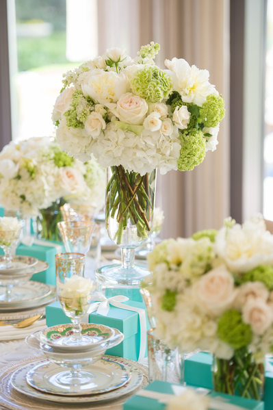 Flowers Set For Fearing's Bridesmaids Luncheon At Ritz