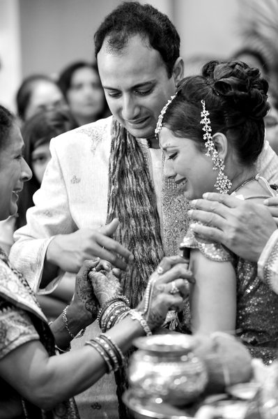 Tears Flow During Houston Indian Wedding Vidhi