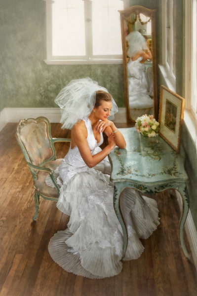 Best Bridal Portrait At Dresser Mansion