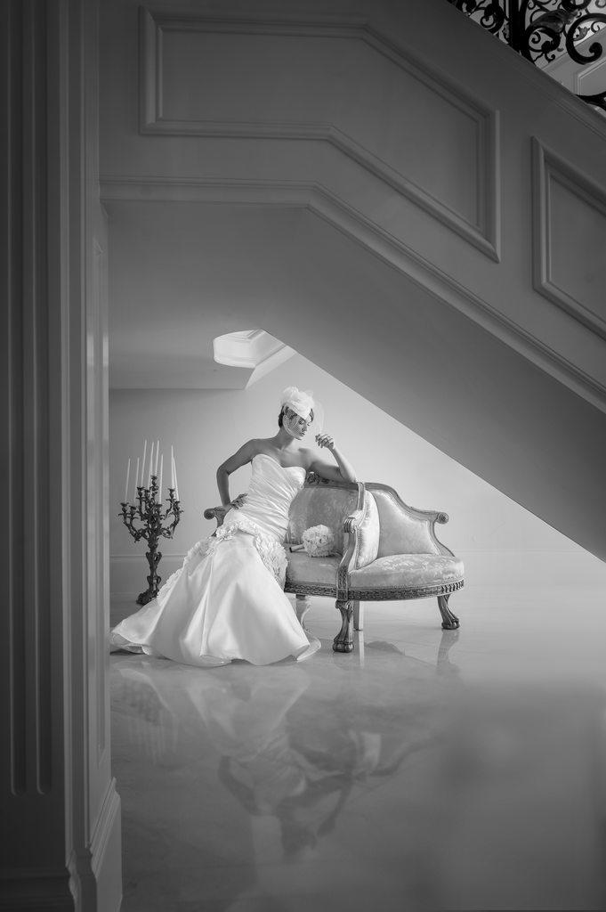 Gorgeous Clic Bridal Portrait In Dfw Mansion