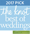 2017 The Knot Best of Weddings winner