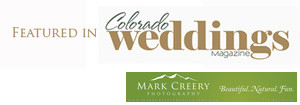 Featured in 2016 Colorado Weddings Magazine