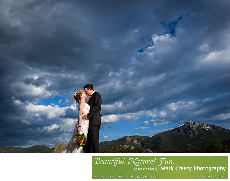 Natural Colorado wedding photographers