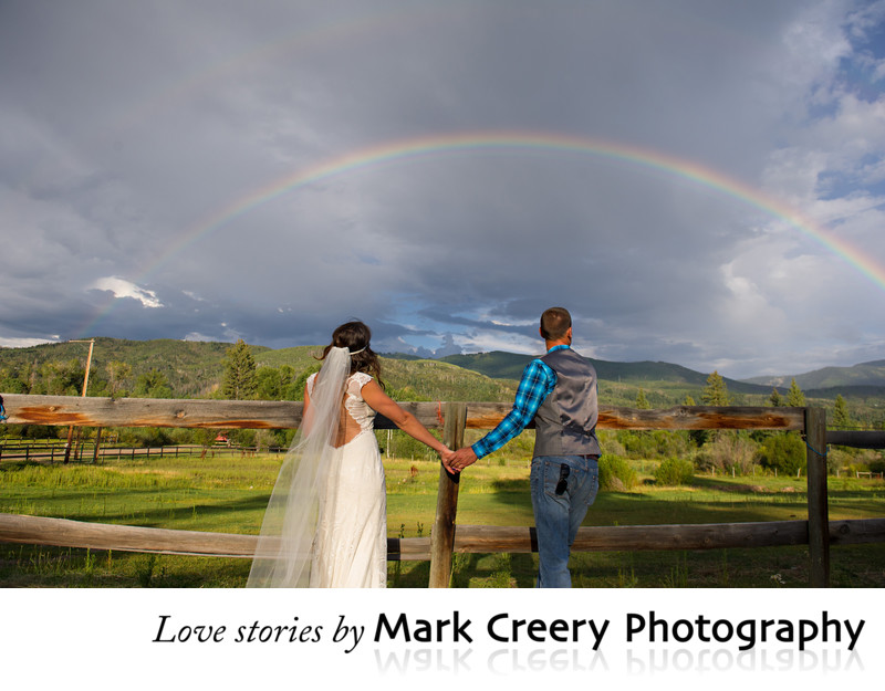 Perry Mansfield wedding photos in Steamboat Springs